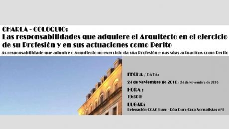 charla-coloquio-xuices-e-arquitectos- arquitectura lugo coag